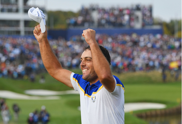 Francesco Molinari Clinches Ryder Cup for Europe