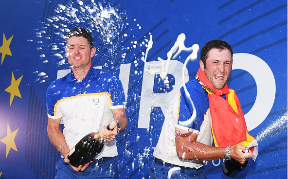 Justin Rose and Jon Rahm Ryder Cup