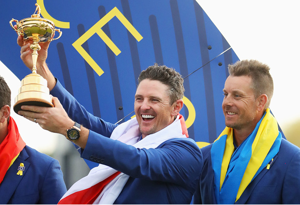 Justin Rose and Henrik Stenson Ryder Cup
