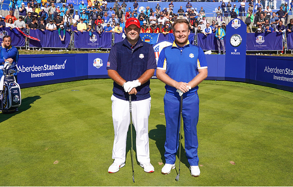 Patrick Reed and Tyrrell Hatton Ryder Cup
