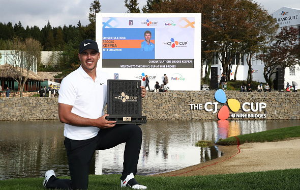 Brooks Koepka Wins the 2018 CJ Cup