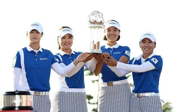 So Yoen Ryu, In-Kyung Kim, Sung Hyun Park and In Gee Chun South Korea Win UL International Crown