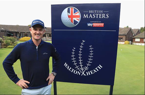 Justin Rose 2018 British Masters