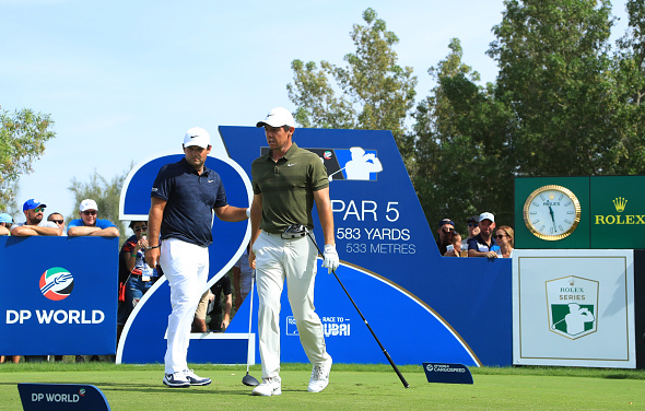 Rory McIlroy and Patrick Reed DP World Tour