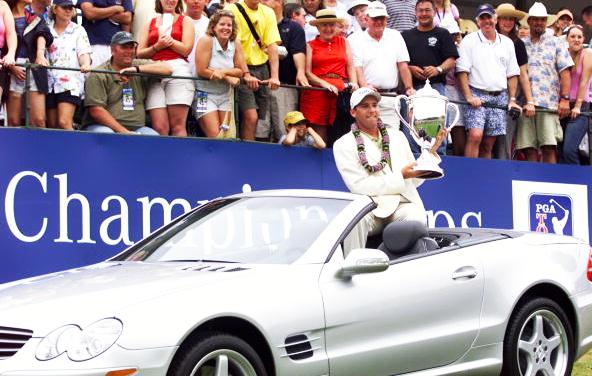 Sergio Garcia Wins 2002 Mercedes Championships at Kapalua