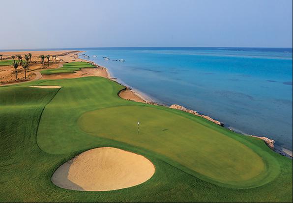Greens Golf & Country Club in King Abdullah Economic City, Saudi Arabia