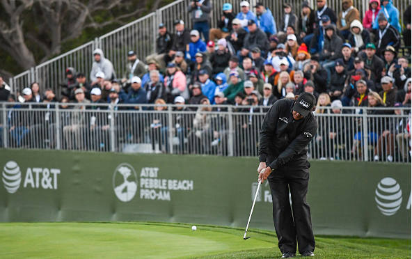 Phil Mickelson Wins Pebble Beach Pro-Am
