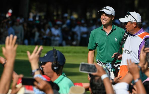 Justin Thomas Holes Out WGC-Mexico