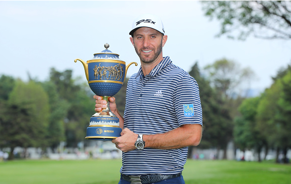 Dustin Johnson Wins WGC-Mexico Championship