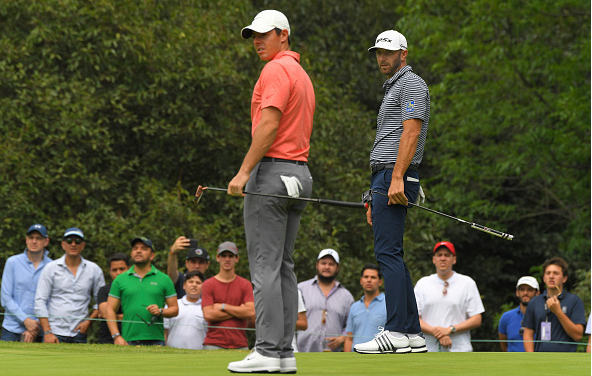 Rory McIlroy Dustin Johnson