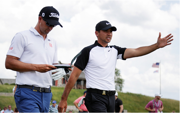 Adam Scott and Jason Day