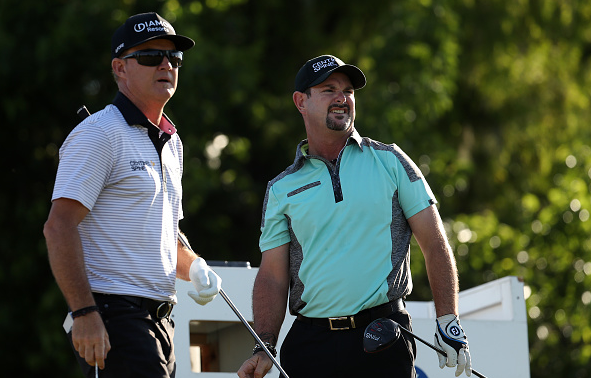 Brian Gay and Rory Sabbatini