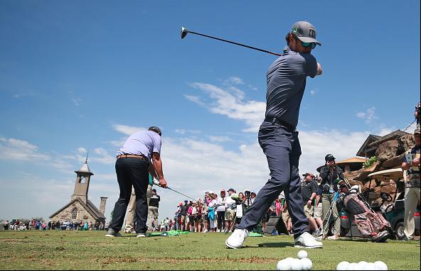 Mark Wahlberg Bass Pro Shops Legends of Golf
