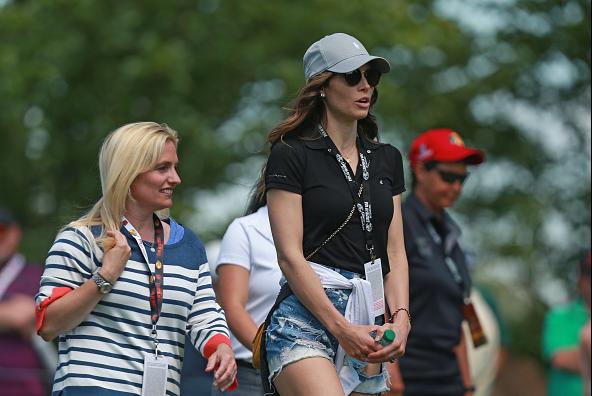 Jessica Biel husband Justin Timberlake Bass Pro Shops Legends of Golf