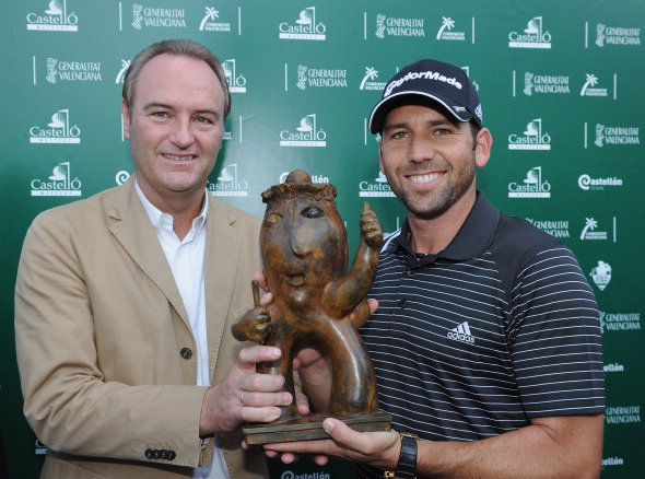 Sergio Garcia Castello Masters Trophy
