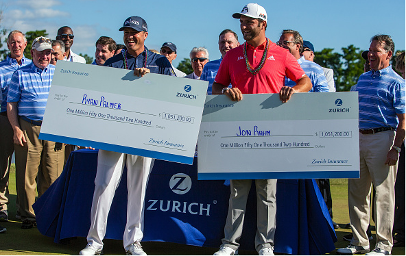 Jon Rahm and Ryan Palmer Win Zurich Classic