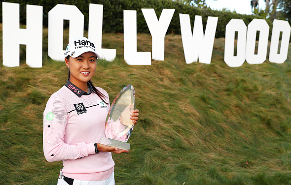 Minjee Lee Wins HUGEL-AIR PREMIA LA Open at Wilshire CC
