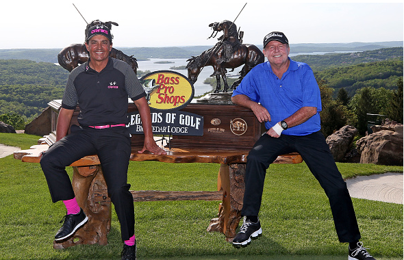 Tom Pernice Jr. and Scott Hoch Win Bass Pro Shops Legends of Golf