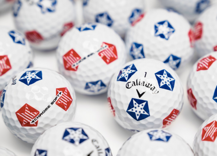 Callaway Chrome Soft Truvis Stars and Stripes Golf Balls