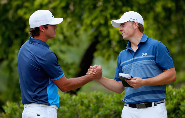Brooks Koepka and Jordan Spieth