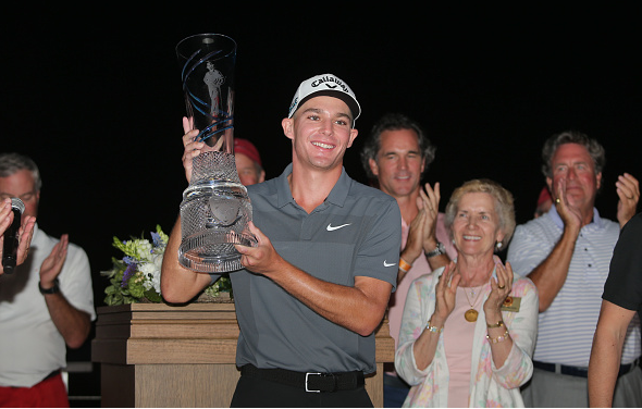 Aaron Wise Wins AT&T Byron Nelson