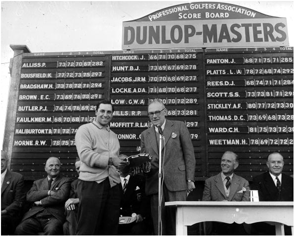 Jimmy Hitchcock Dunlop Masters
