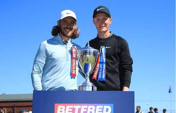 Marcus Kinhult and Tommy Fleetwood