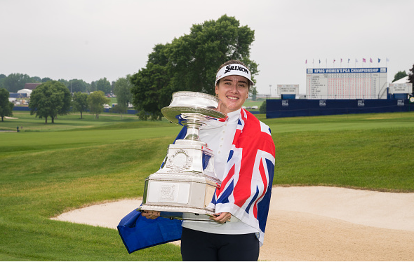 Hannah Green Wins KPMG Women's PGA Championship