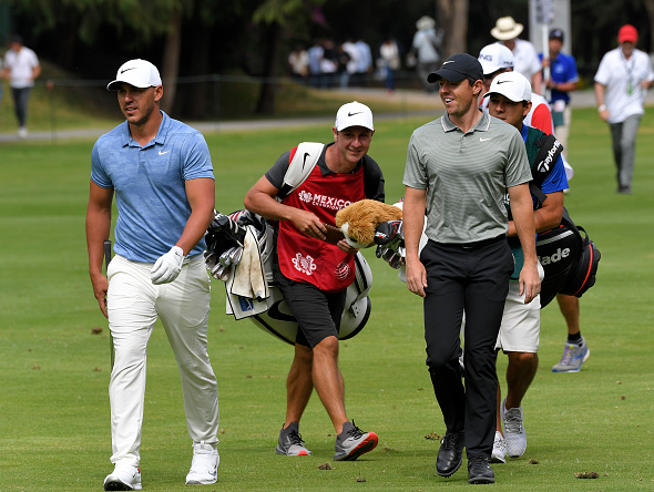 Brooks Koepka and Rory McIlroy