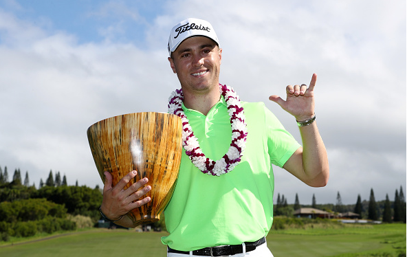 Justin Thomas Wins at Kapalua