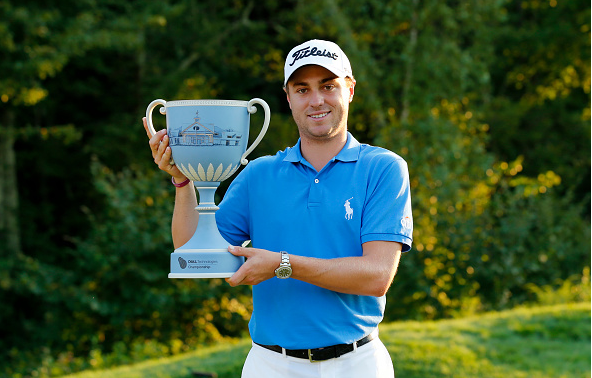 Justin Thomas Wins Dell Tech Championship