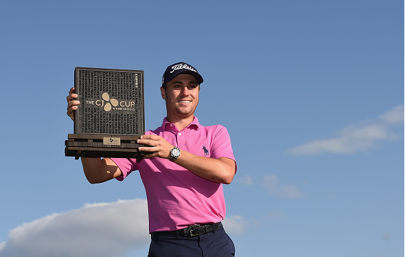 Justin Thomas Wins CJ Cup