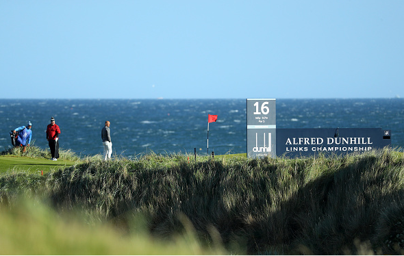 Surfer Kelly Slater Alfred Dunhill Links Championship