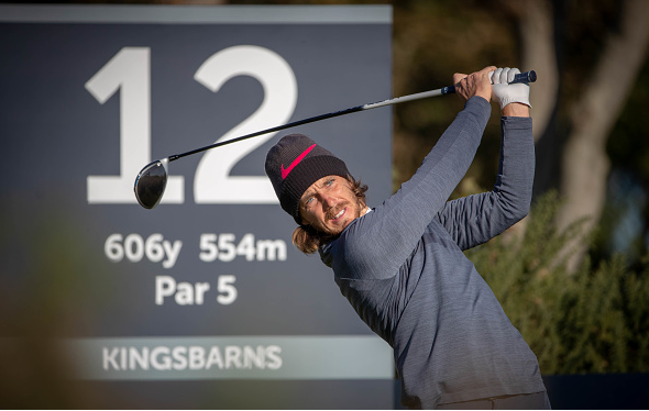 Tommy Fleetwood Alfred Dunhill Links