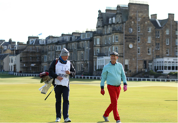 Actor Bill Murray Alfred Dunhill Links