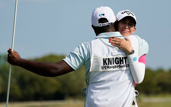 Cheyenne Knight Wins Volunteers of America Classic