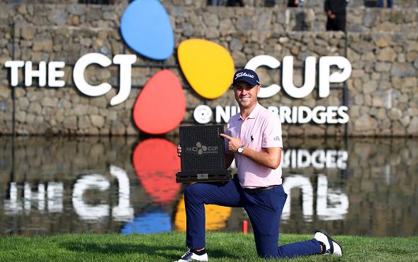 Justin Thomas Wins 2019 CJ Cup