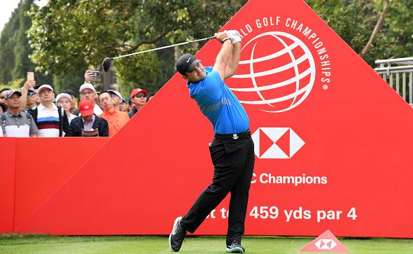Patrick Reed WGC-HSBC Champions