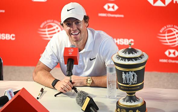 Rory McIlroy Wins WGC-HSBC Champions Shanghai China