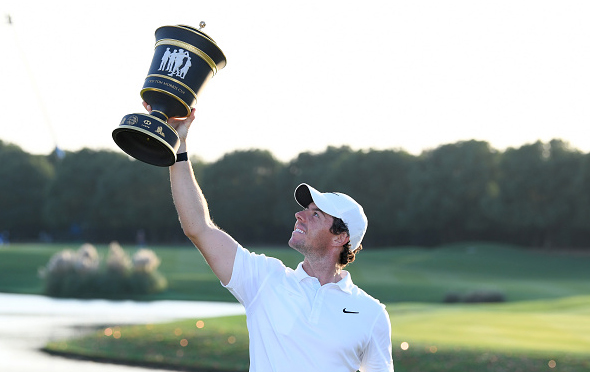 Rory McIlroy Wins WGC-HSBC Champions Shanghai China