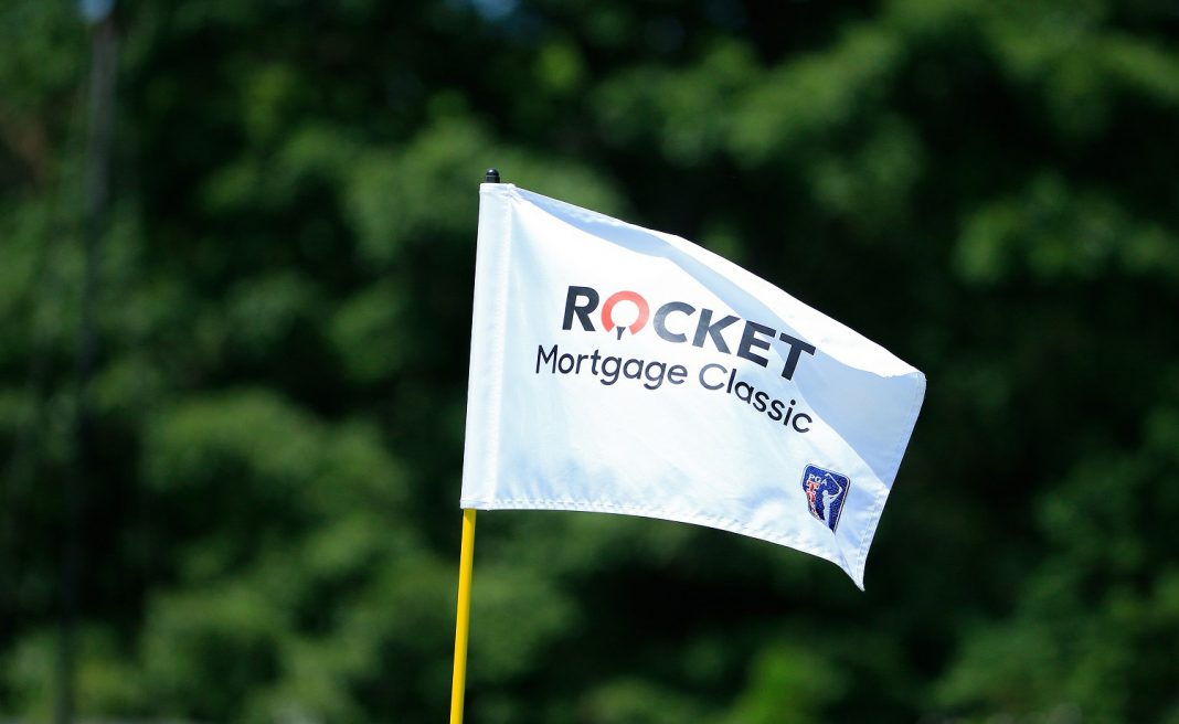Rocket Mortgage Classic Flag at Detroit Golf Club
