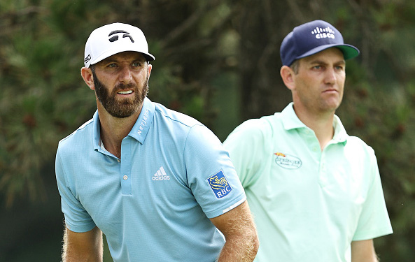 Dustin Johnson and Brendon Todd Travelers Championship