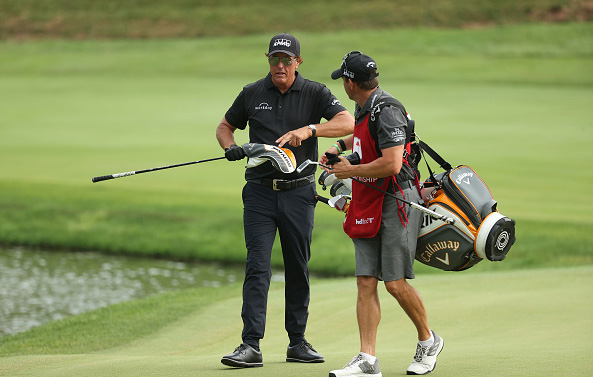 Phil Mickelson Travelers Championship at TPC River Highlands