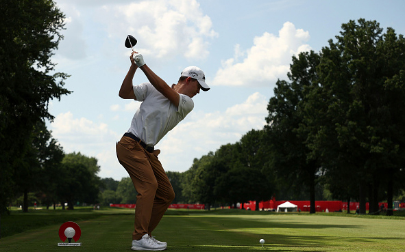 Maverick McNealy Rocket Mortgage Classic Detroit Golf Club