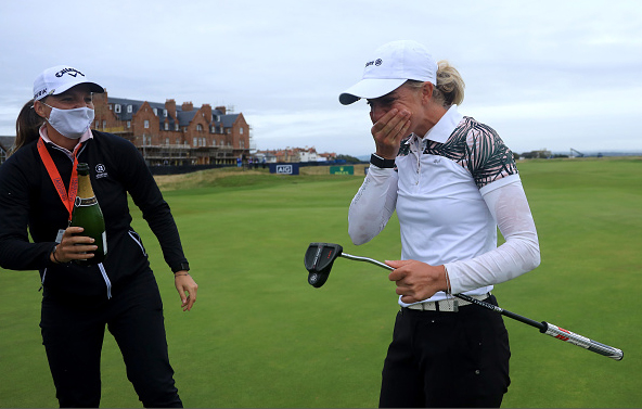 Sophia Popov Wins Women's Open Troon