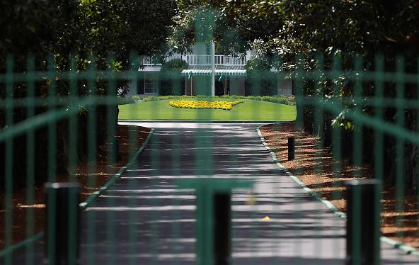 Augusta National Golf Club - Gates Locked Magnolia Lane