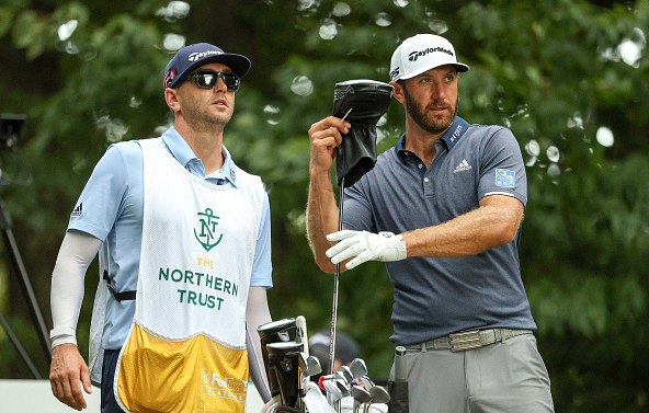 Dustin Johnson THE NORTHERN TRUST at TPC Boston