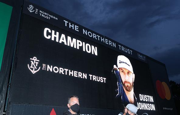Dustin Johnson Wins THE NORTHERN TRUST at TPC Boston