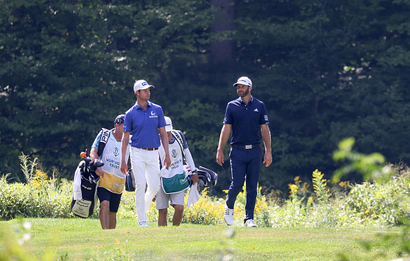 Harris English Dustin Johnson THE NORTHERN TRUST at TPC Boston