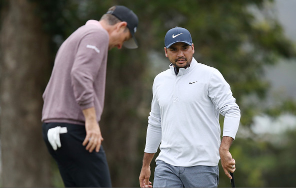 Jason Day and Justin Rose 2020 PGA Championship